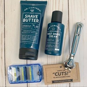 Dollar Shave Club and Dr. Carvers Bundle